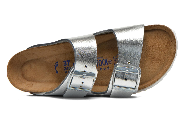 Arizona Cuir W Metallic Silver