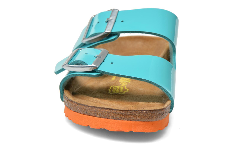 Mules et sabots Birkenstock Arizona Flor W Vert vue portées chaussures