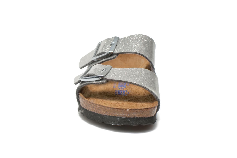 Clogs og træsko Birkenstock Arizona Flor W (Smal model) Sølv se skoene på