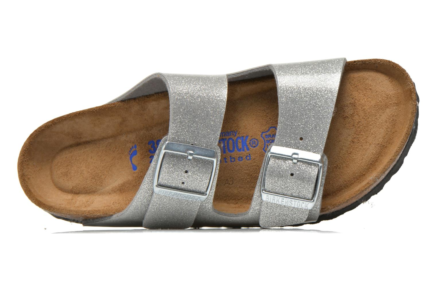 Wedges Birkenstock Arizona Flor W Zilver links