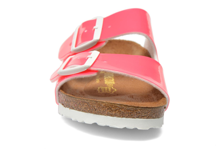 Mules et sabots Birkenstock Arizona Flor W Rose vue portées chaussures