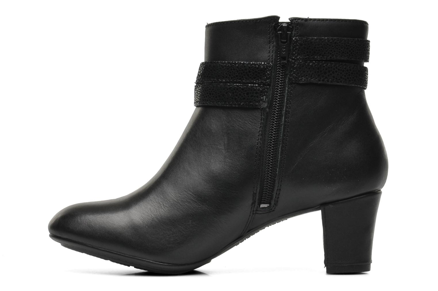 Coco Imagery Black leather