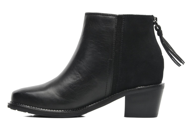Bottines et boots Hush Puppies Stella Cordell Noir vue face