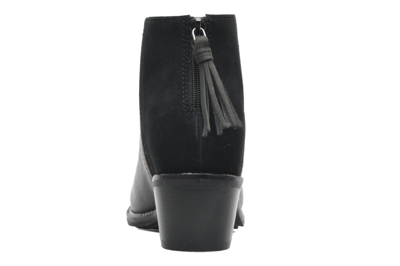 Bottines et boots Hush Puppies Stella Cordell Noir vue droite