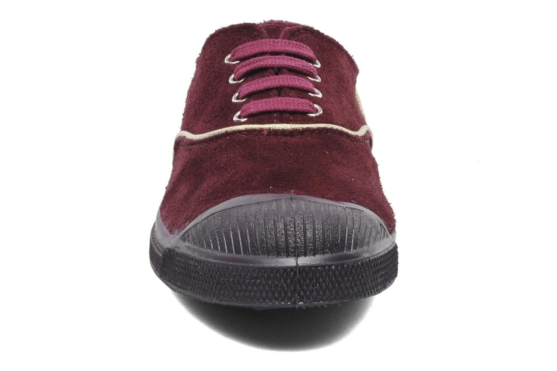 Sneakers Bensimon Tennis Lacets Suedpiping Bordeaux model