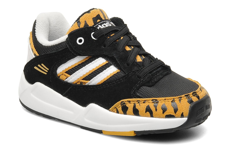 Sneakers Adidas Originals Tech Super Cf I Sort detaljeret billede af skoene