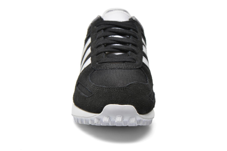 Sneaker Adidas Originals La Trainer W schwarz schuhe getragen