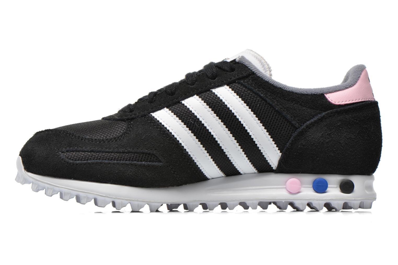 Sneaker Adidas Originals La Trainer W schwarz ansicht von vorne