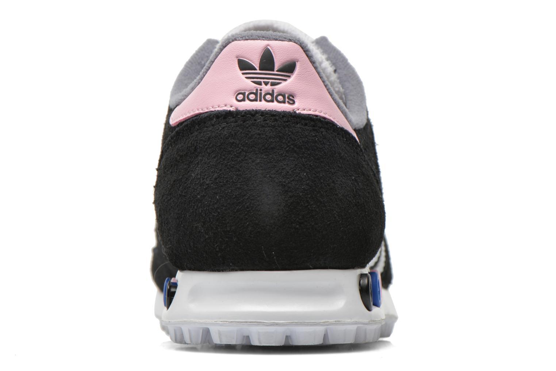 Sneaker Adidas Originals La Trainer W schwarz ansicht von rechts