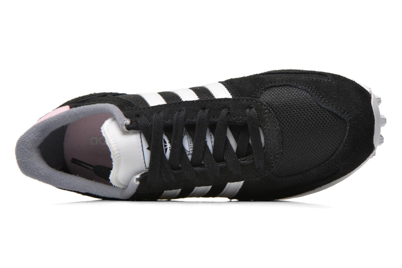 Sneaker Adidas Originals La Trainer W schwarz ansicht von links