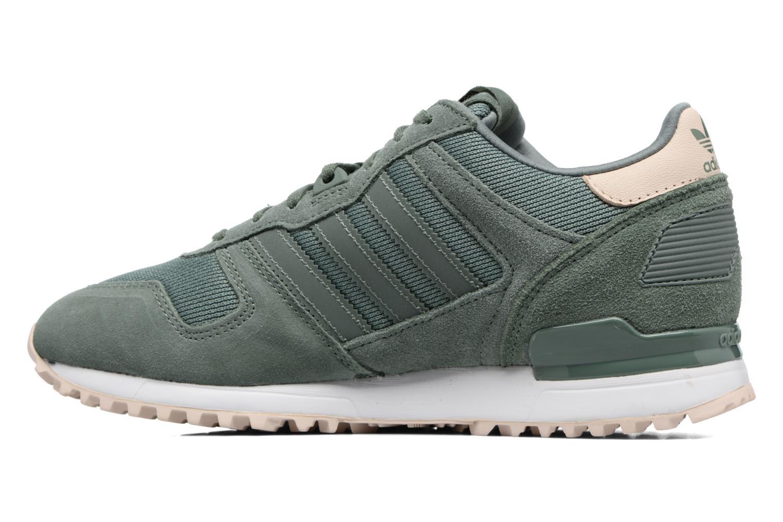 Sneaker Adidas Originals Zx 700 W grün ansicht von vorne