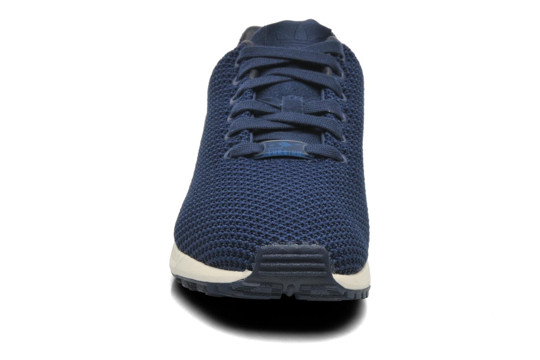 Sneaker Adidas Originals Zx Flux W blau schuhe getragen