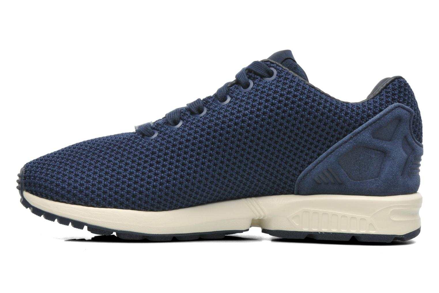 Baskets Adidas Originals Zx Flux W Bleu vue face