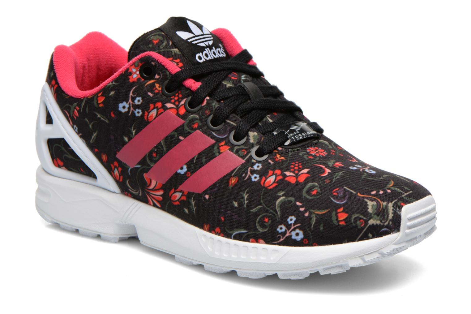 Trainers Adidas Originals Zx Flux W Multicolor detailed view/ Pair view