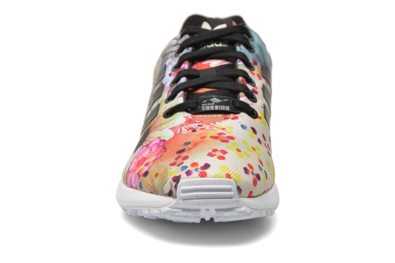 Sneaker Adidas Originals Zx Flux W mehrfarbig schuhe getragen
