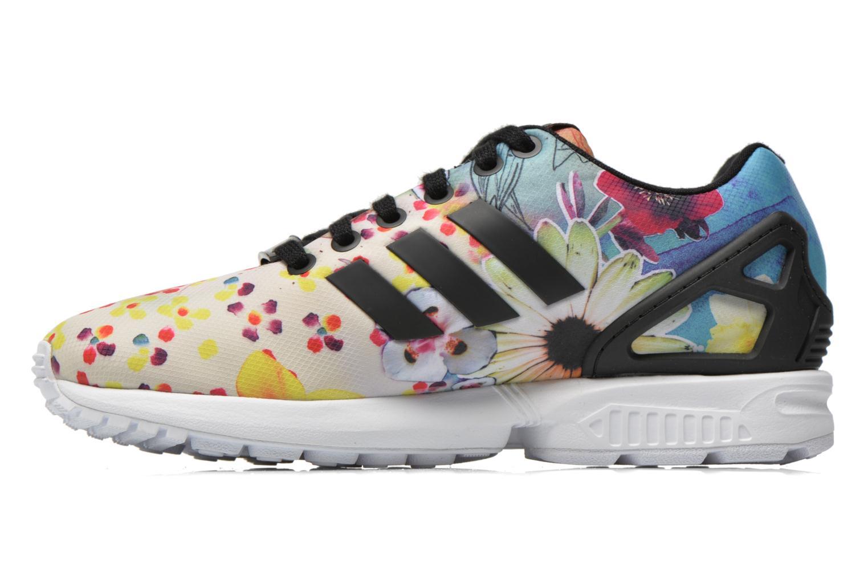 Baskets Adidas Originals Zx Flux W Multicolore vue face