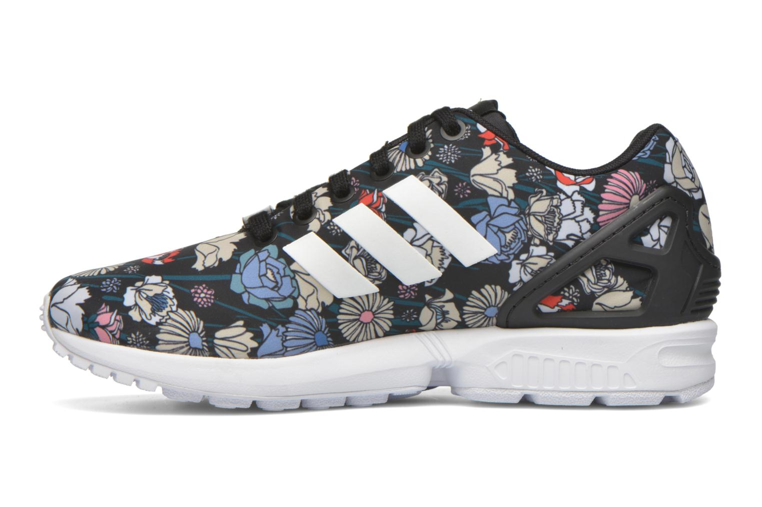 Baskets Adidas Originals Zx Flux W Multicolore vue face
