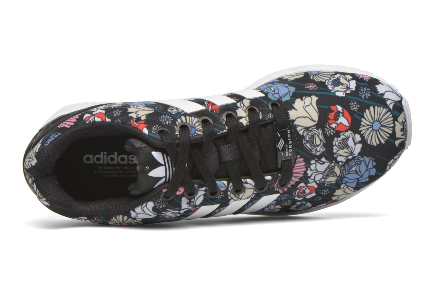Baskets Adidas Originals Zx Flux W Multicolore vue gauche
