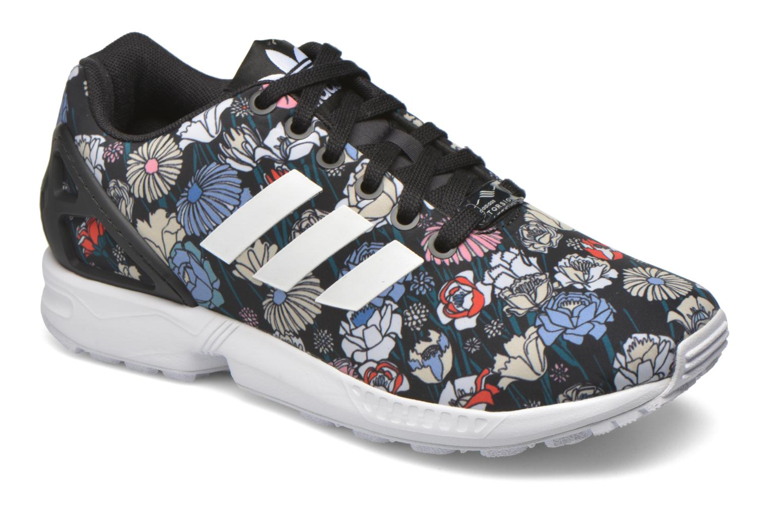 Baskets Adidas Originals Zx Flux W Multicolore vue détail/paire