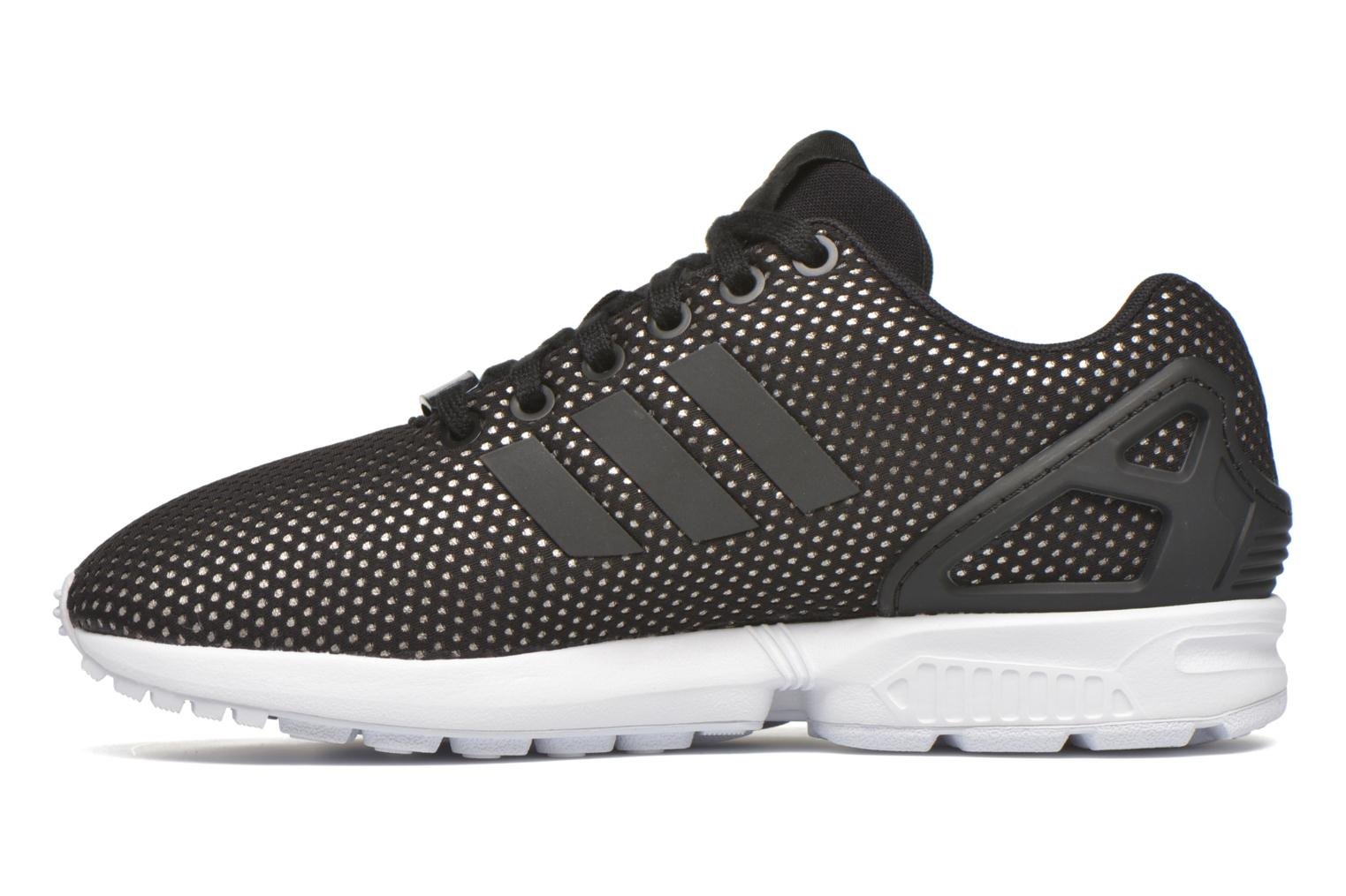 Baskets Adidas Originals Zx Flux W Noir vue face