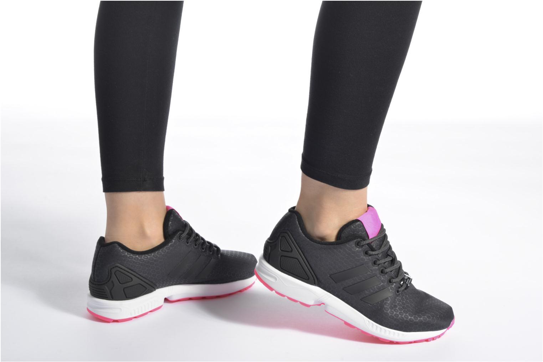 Baskets Adidas Originals Zx Flux W Multicolore vue bas / vue portée sac