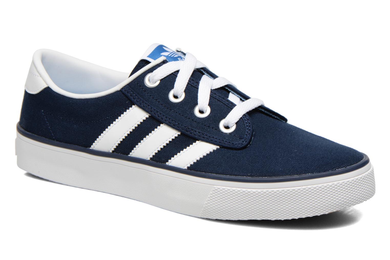 baskets adidas kiel bleu marine carbon blanc