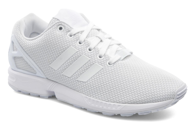 basket adidas zx flux blanc