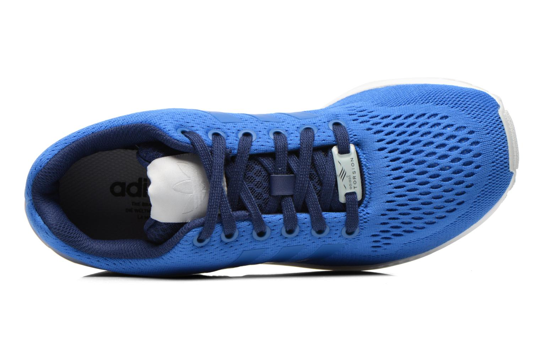 Baskets Adidas Originals Zx Flux Bleu vue gauche
