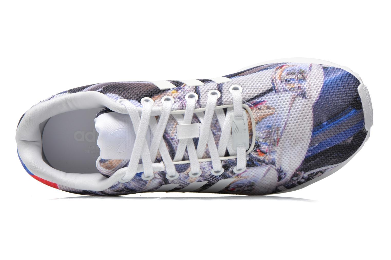 Sneaker Adidas Originals Zx Flux mehrfarbig ansicht von links