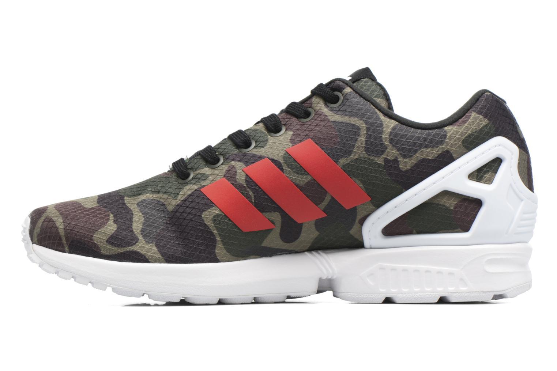 Sneakers Adidas Originals Zx Flux Groen voorkant