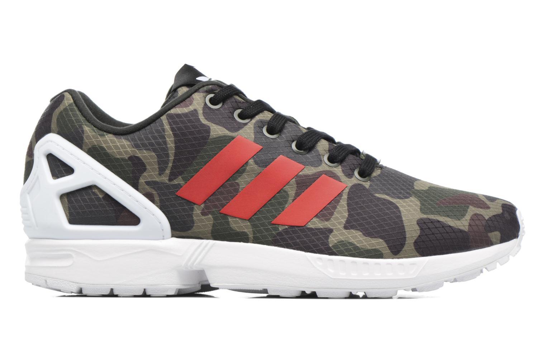 Sneakers Adidas Originals Zx Flux Groen achterkant