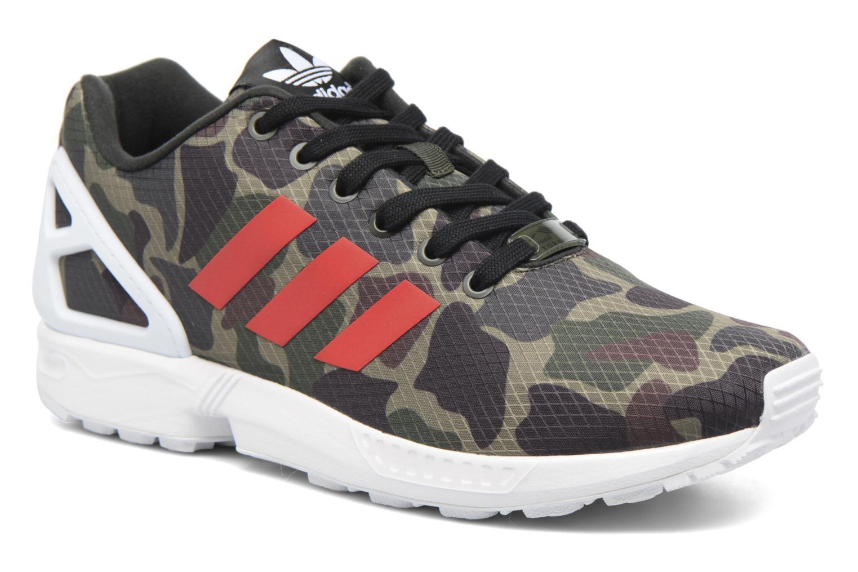 Sneakers Adidas Originals Zx Flux Groen detail