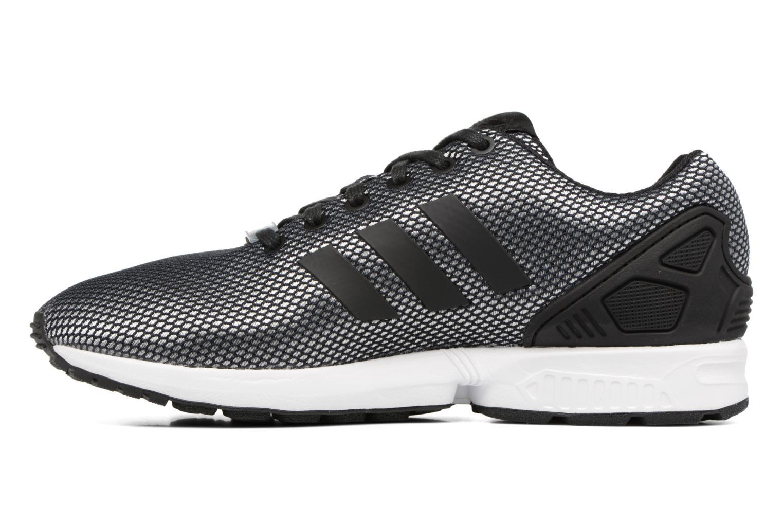 Trainers Adidas Originals Zx Flux Grey front view