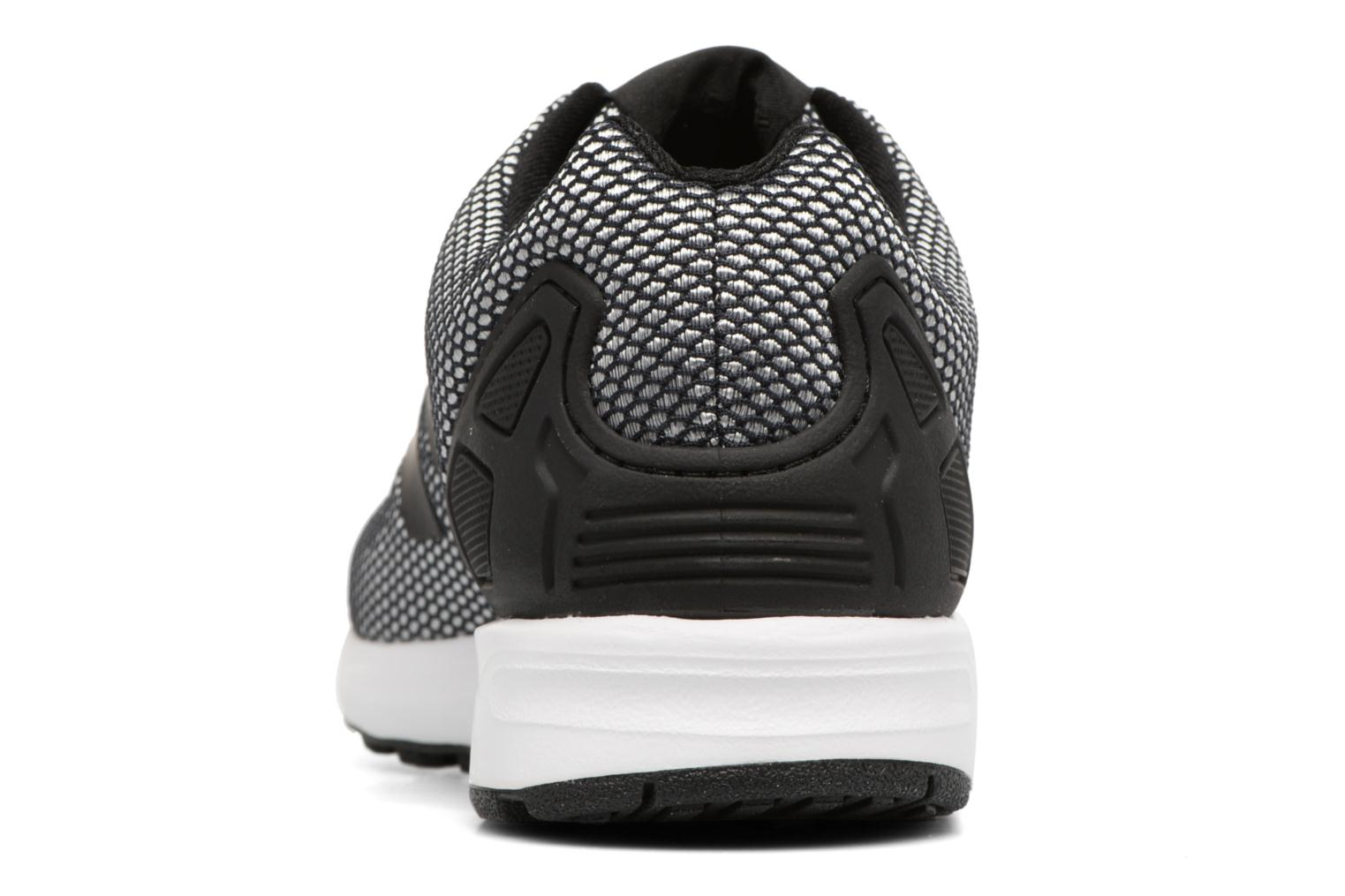 Trainers Adidas Originals Zx Flux Grey view from the right