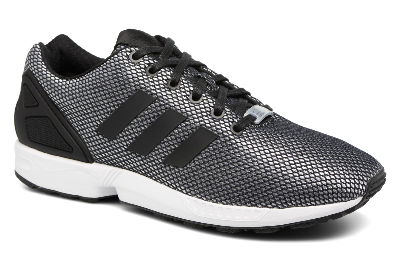 Baskets Adidas Originals Zx Flux Gris vue détail/paire