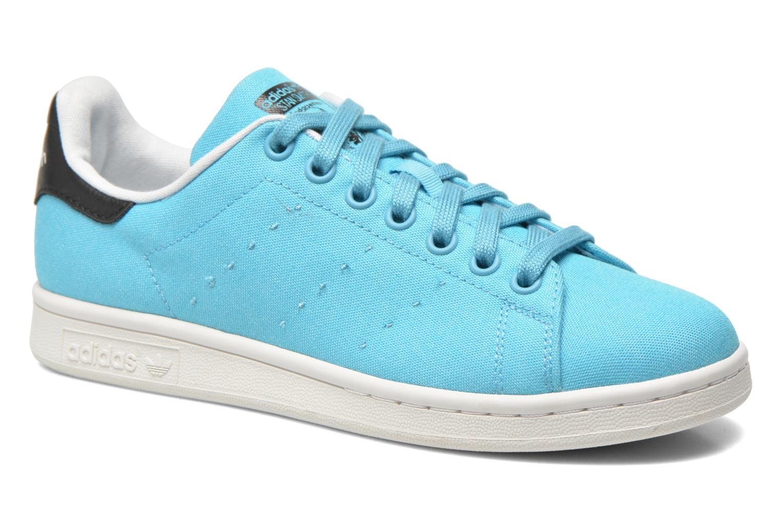 Baskets Adidas Originals Stan Smith W Bleu vue détail/paire