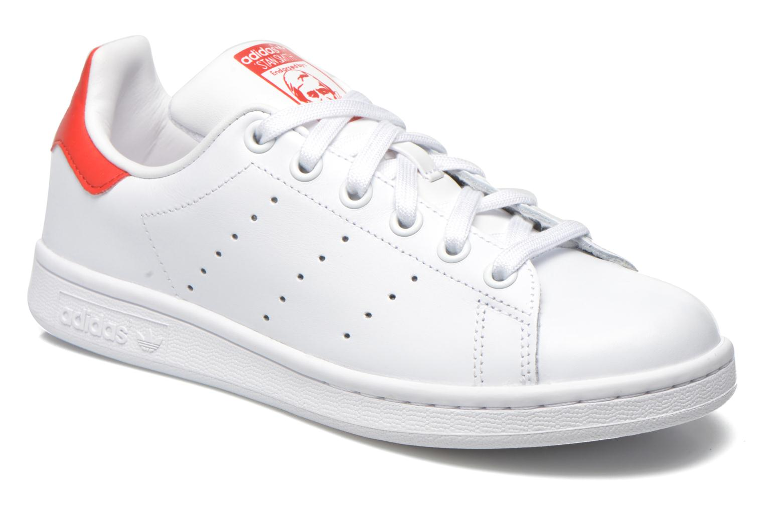 Stan Smith W Blanc/Blanc/Rougco