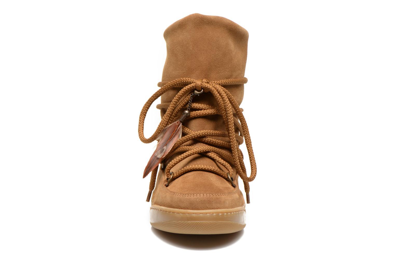Bottines et boots Serafini Moon Marron vue portées chaussures