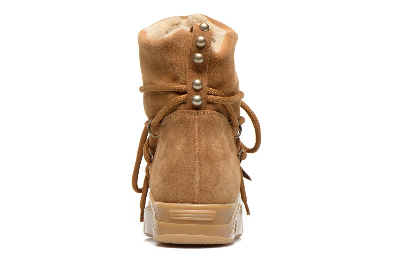 Bottines et boots Serafini Moon Marron vue droite