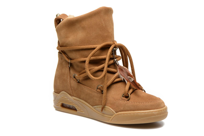 Bottines et boots Serafini Moon Marron vue détail/paire