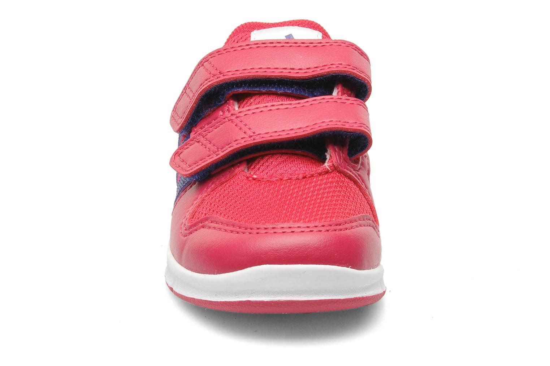 Baskets Adidas Performance LK Trainer 6 CF I Rose vue portées chaussures