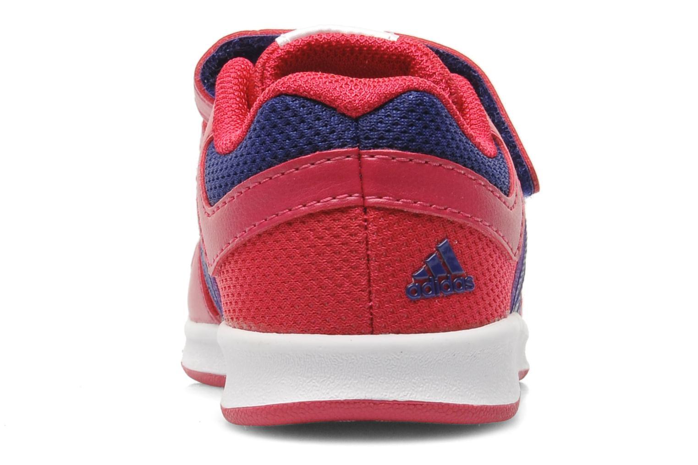 Baskets Adidas Performance LK Trainer 6 CF I Rose vue droite