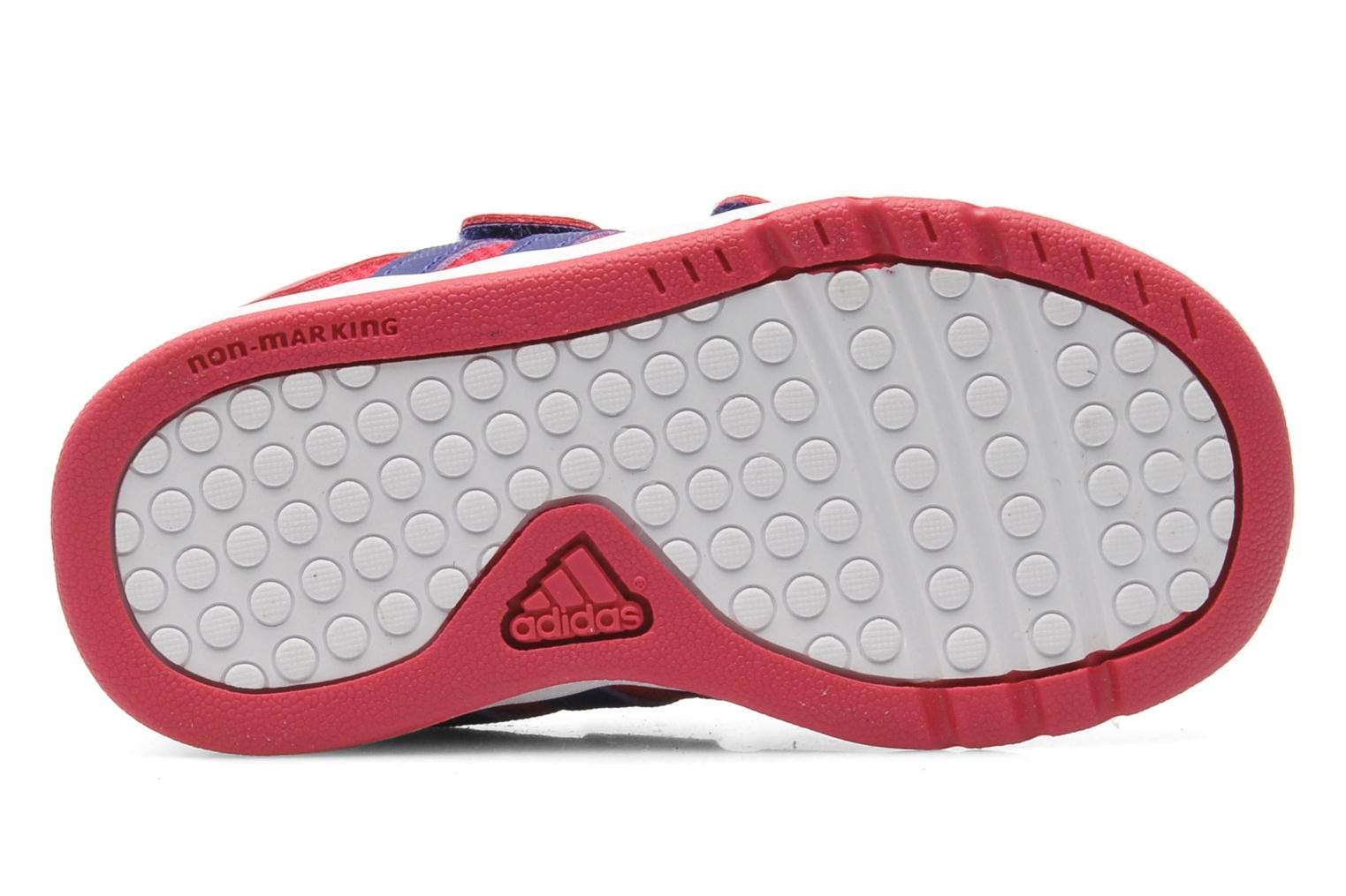 Trainers Adidas Performance LK Trainer 6 CF I Pink view from above