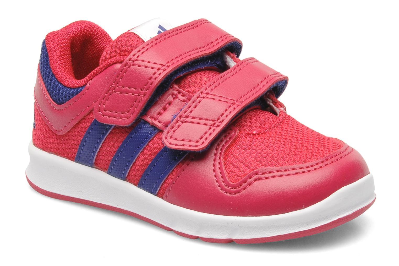 Adidas - Basket Bebe - Lk Trainer 6 - Noir Rouge Infrared rD3VGas
