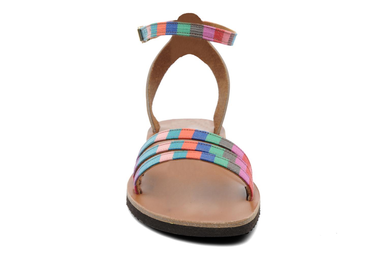 Sandalen Sandales de Thaddée Capri mehrfarbig schuhe getragen