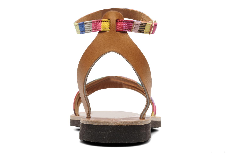 Sandalen Sandales de Thaddée Capri mehrfarbig ansicht von rechts