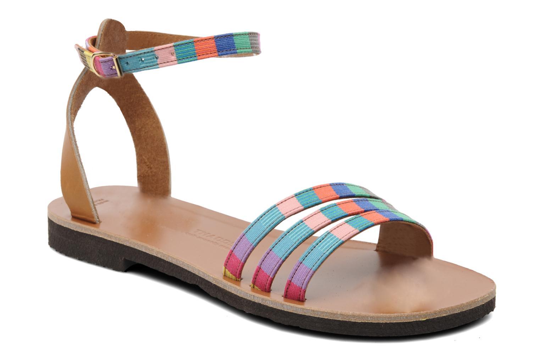 Sandalen Sandales de Thaddée Capri mehrfarbig detaillierte ansicht/modell