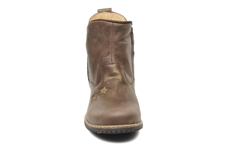 Stiefeletten & Boots Minibel HASTAR braun schuhe getragen
