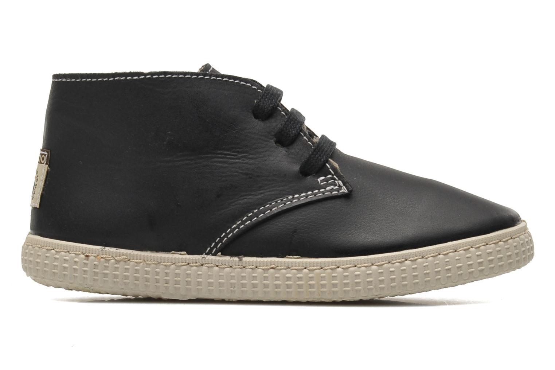 Chaussures à lacets Victoria Safari Piel Tintada Pelo Noir vue derrière