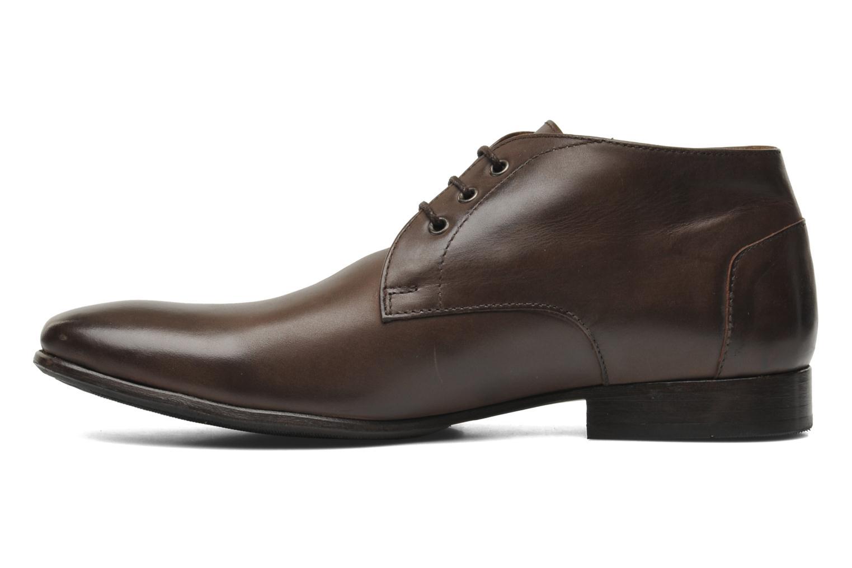 Chaussures à lacets HE Spring Cl Chukka Marron vue face